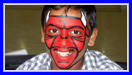 Chicago Bulls Face Painting